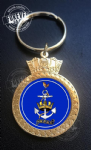 WRNS Crowned Key Ring